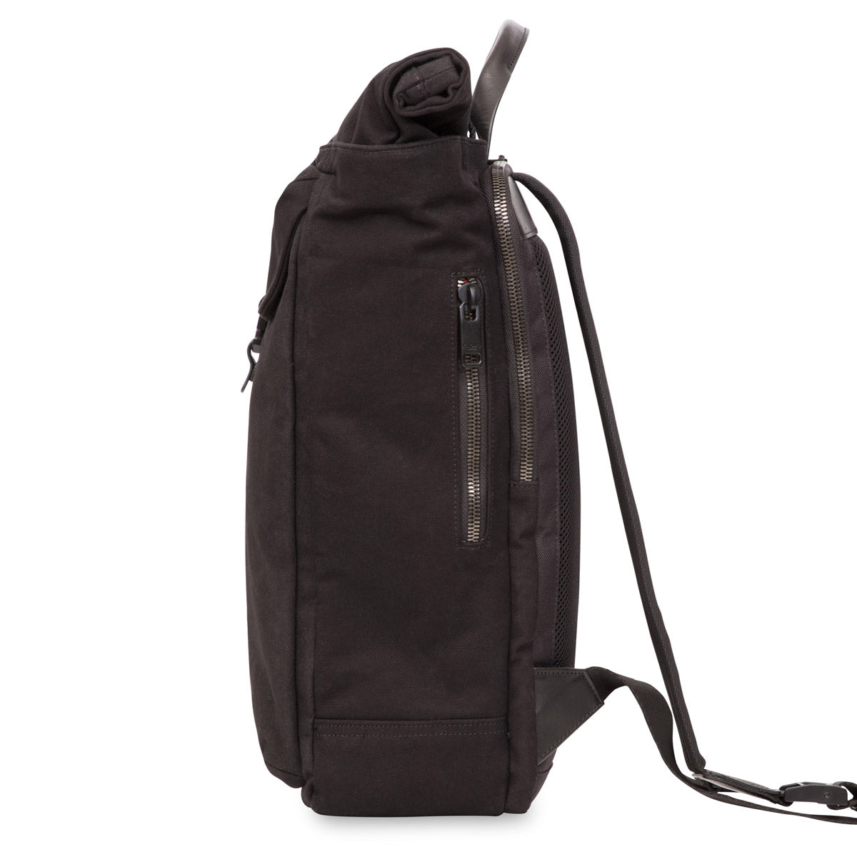 "Novello Roll-Top Laptop Backpack - 15"" -  Black 