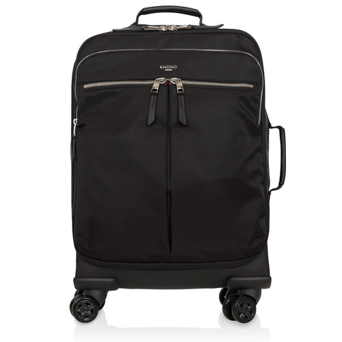 KNOMO Park Lane 4 Wheel Carry-on From Front |knomo.com