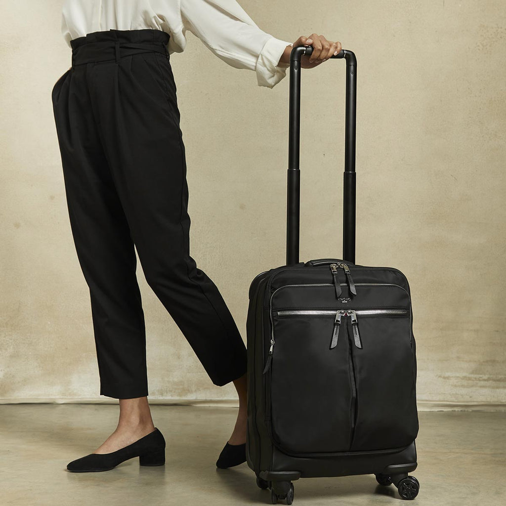 Park Lane 4 Wheel Carry-on -  Black | KNOMO