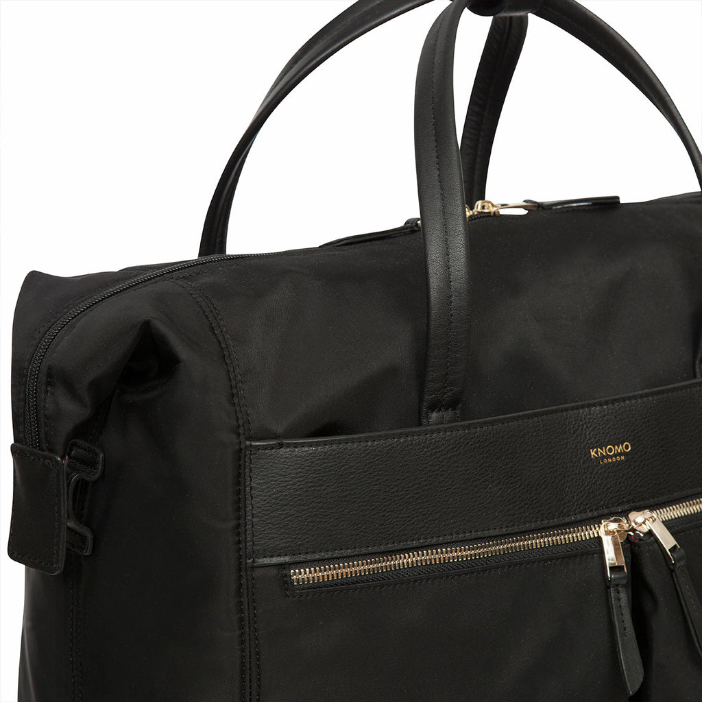 "Sedley Wheeled Travel Laptop Tote Bag - 15"" -  Black"