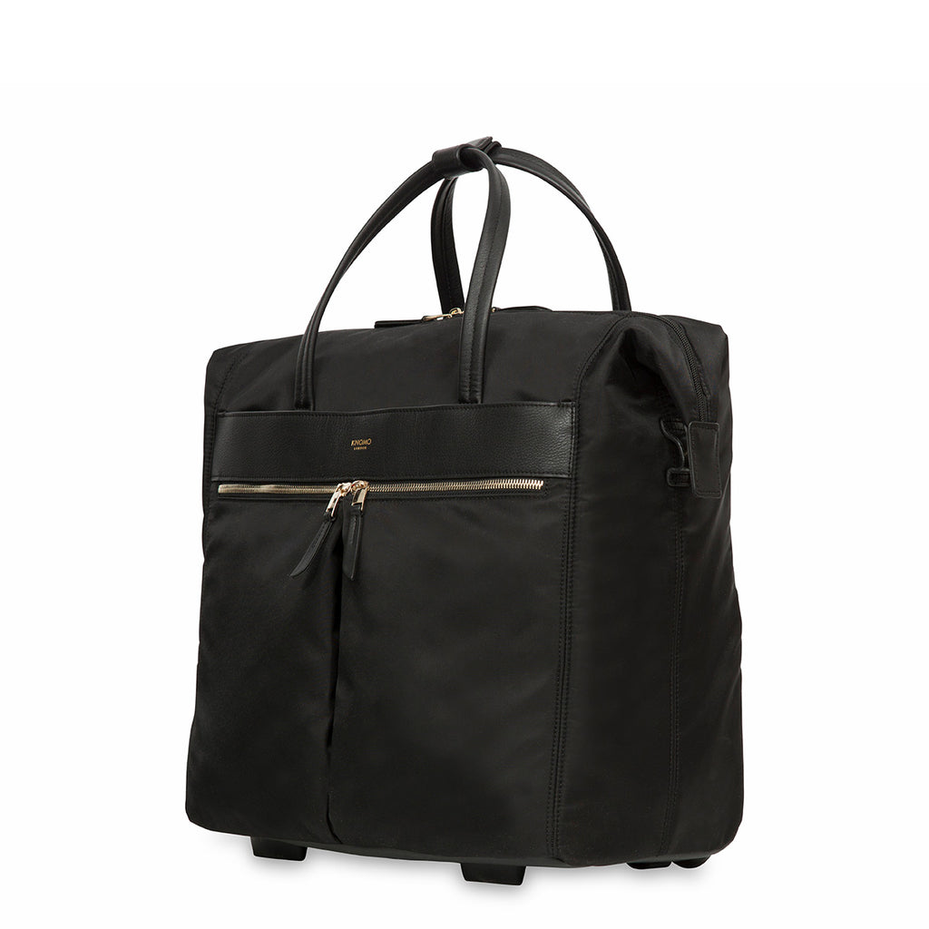 Wheeled Travel Laptop Tote Bag - 15""