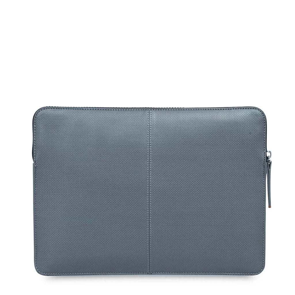 "Embossed Laptop Sleeve 12 inch Embossed Laptop Sleeve - 12"" -  Silver"