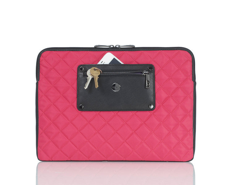 "Laptop Sleeve Quilted Laptop Sleeve - 11"" -  Pink"