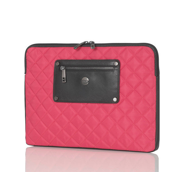 "Laptop Sleeve Quilted Laptop Sleeve - 11"" -  Pink 