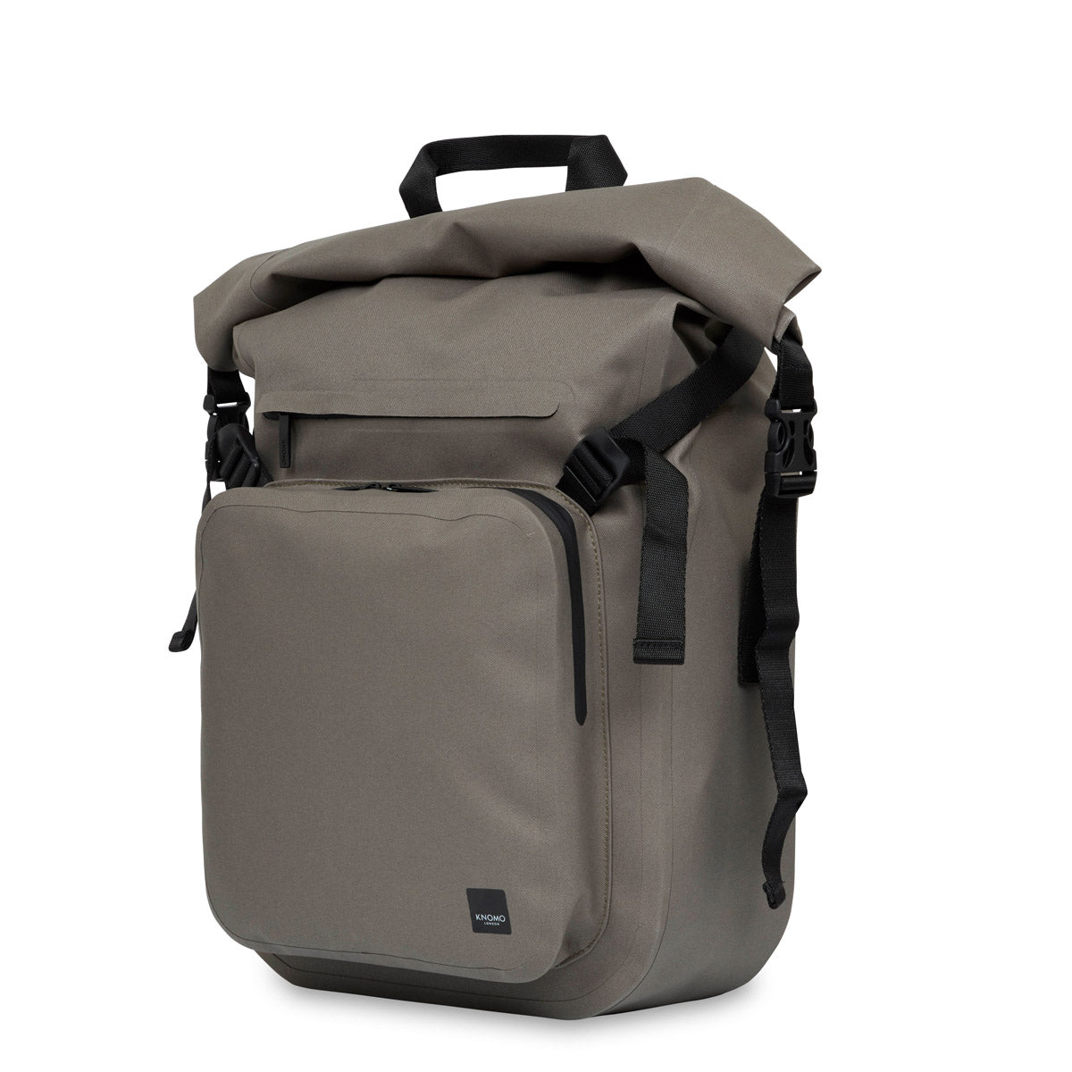 "Hamilton Water Resistant Roll-Top Laptop Backpack - 14"" -  Khaki 
