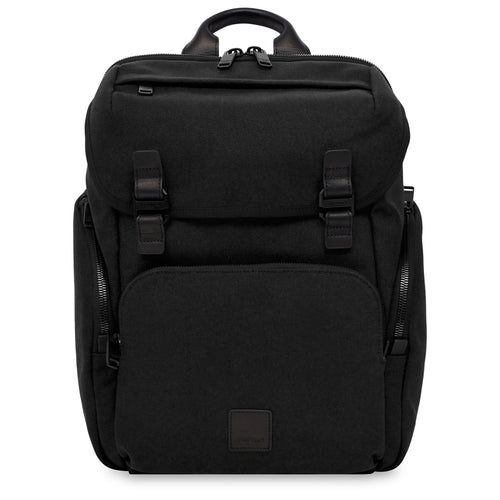 "KNOMO Thurloe Laptop Backpack - 15"" (Wax Canvas) From Front 