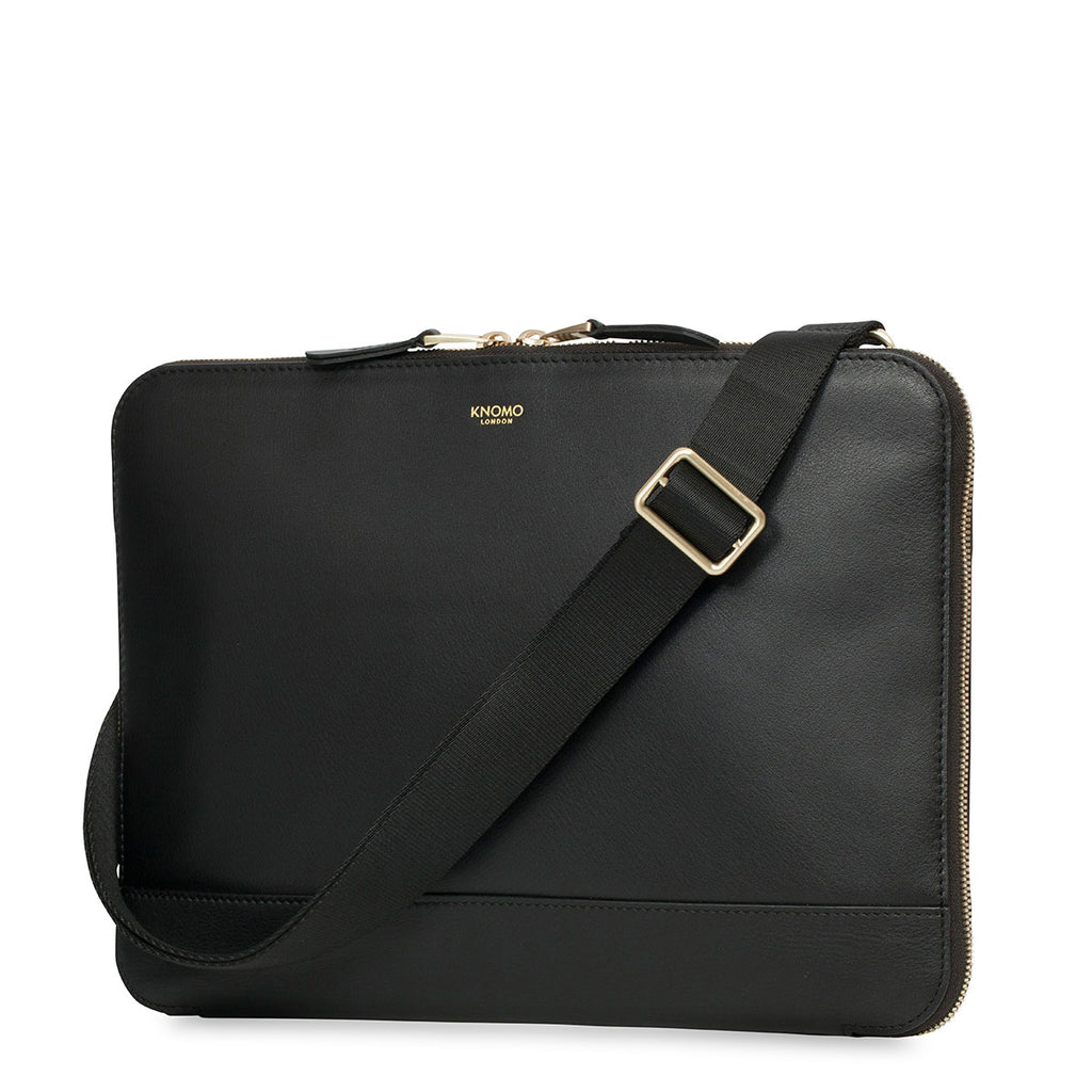 Leather Clutch Bag - 12""