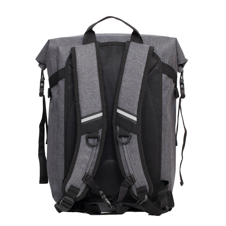 Water Resistant Roll-Top Laptop Backpack - 14