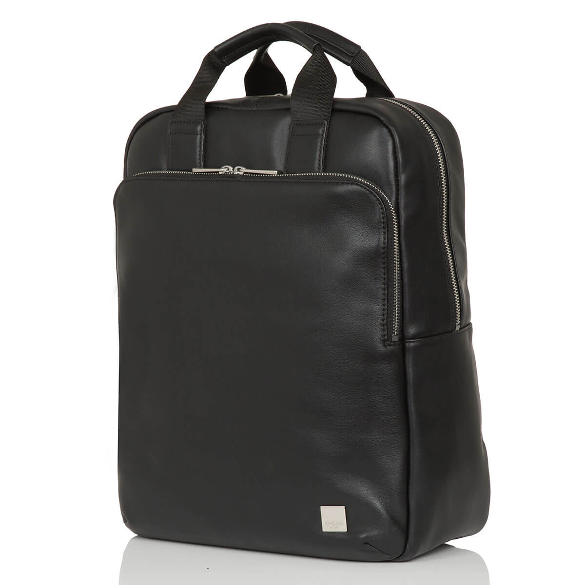 Leather Laptop Backpack - 15""
