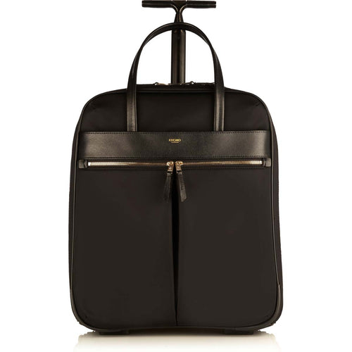 "KNOMO Burlington Wheeled Travel Laptop Bag - 15"" From Front 