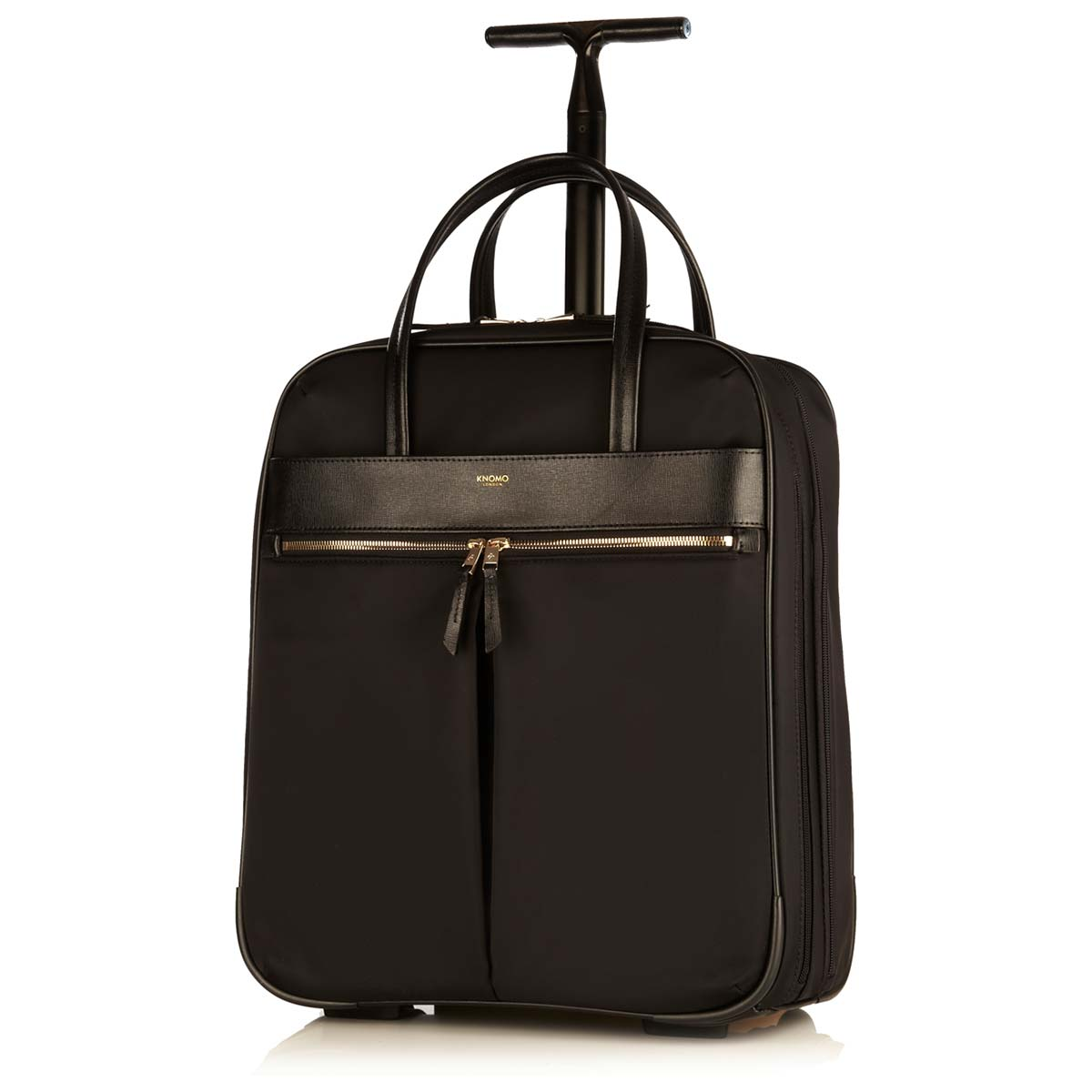 "Burlington Wheeled Travel Laptop Bag - 15"" -  Black 