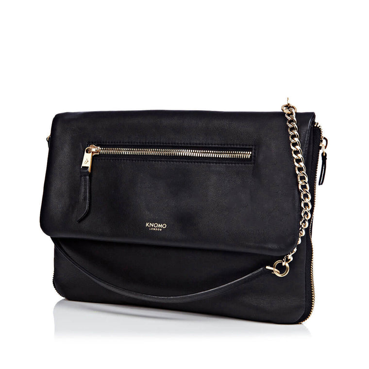 Leather Cross-Body Clutch Bag - 10