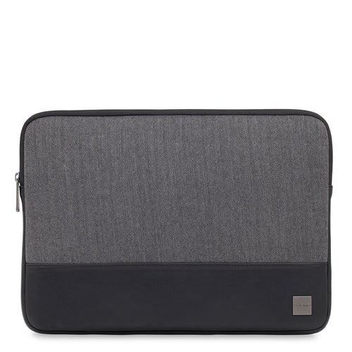 "KNOMO Herringbone Laptop Sleeve Herringbone Laptop Sleeve - 14"" From Front 
