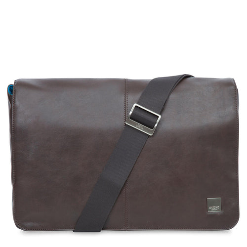 Leather Laptop Messenger Bag - 13