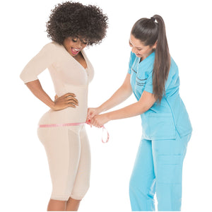 Salome 524 Postquirurgica Lipoesculture with Bra and  sleeves
