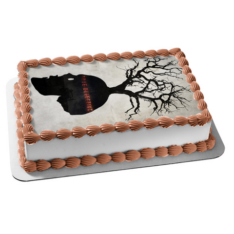 True Detective Skull Tree Car Edible Cake Topper Image ABPID27182