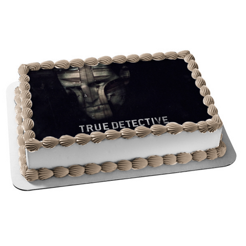 True Detective TV Show Detective Marty Hart Edible Cake Topper Image ABPID27772