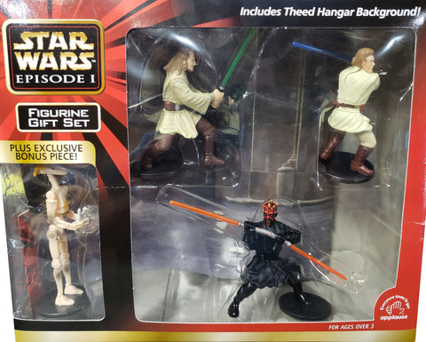 Star Wars Episode 1 PVC Figurine Set With Bonus Figure
