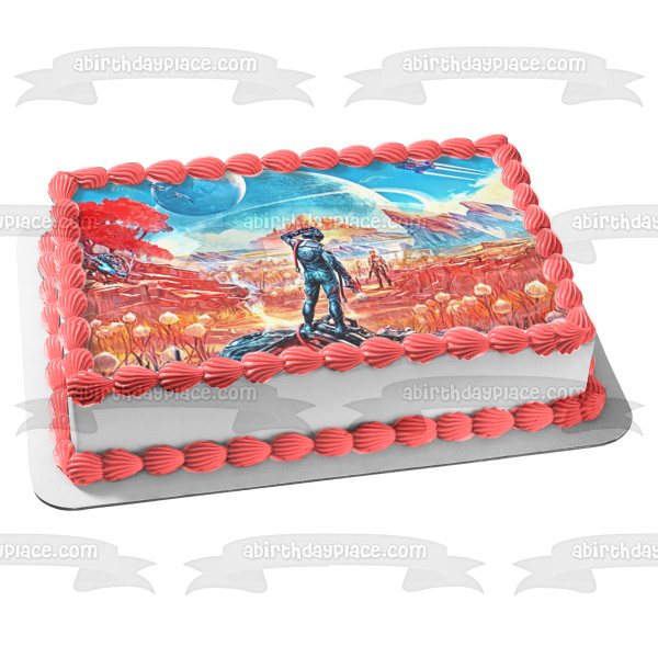 The Outer Worlds Stranger Edible Cake Topper Image ABPID50858