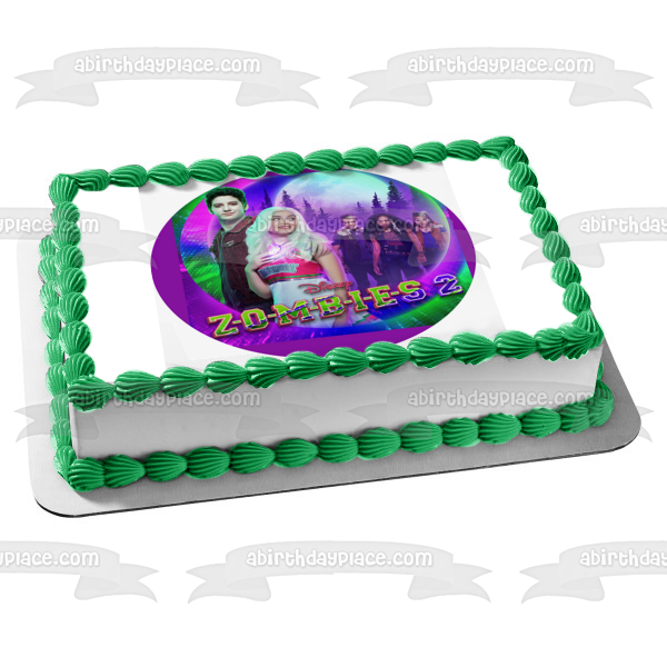Disney Zombies 2 Zed Addison Edible Cake Topper Image ABPID51030