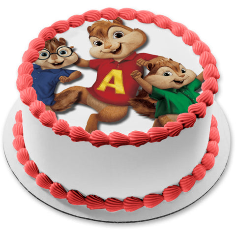 Alvin and The Chipmunks Simon Theodore Edible Cake Topper Image ABPID03220