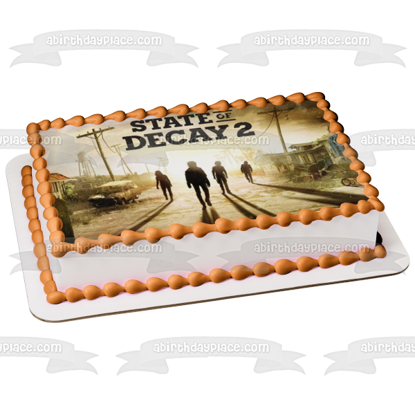 State of Decay 2 Zombies Edible Cake Topper Image ABPID00667
