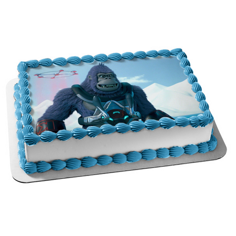 King Kong King of the Apes White Mountains Droid Edible Cake Topper Image ABPID00248