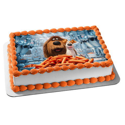 The Secret Life of Pets Duke Max Edible Cake Topper Image ABPID00604