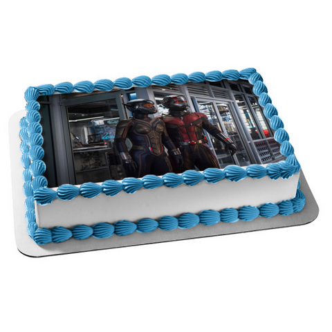 Marvel Ant-Man and the Wasp Scott Lang Edible Cake Topper Image ABPID00653