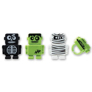Halloween Scary Bot Cupcake Rings (12ct)