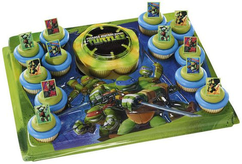 Teenage Mutant Ninja Turtles Cupcake Tray with Rings
