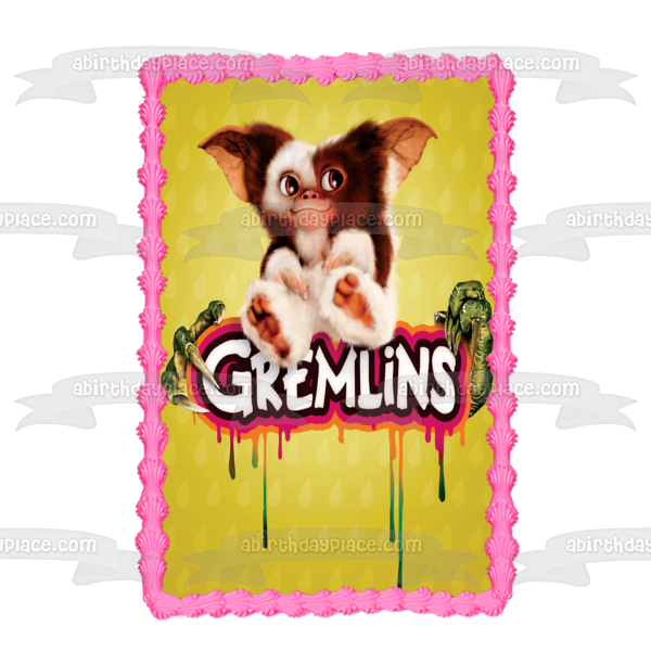 Gremlins Gizmo Drip Edible Cake Topper Image ABPID50834