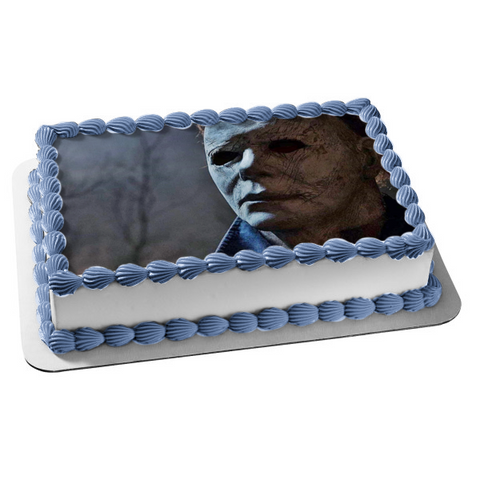 Halloween Michael Myers Classic Horror Film Edible Cake Topper Image ABPID52795