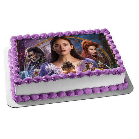 Disney the Nutcracker and the Four Realms Edible Cake Topper Image ABPID01013