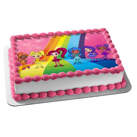 Rainbow Rangers Nick Jr. Anna Banana Edible Cake Topper Image ABPID01057