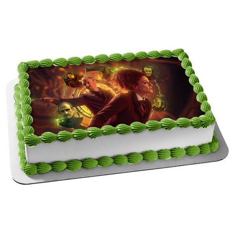 Doctor Who the Master Bbc Edible Cake Topper Image ABPID52990