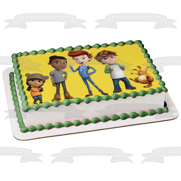 Ready Jet Go Sean Rafferty Mindy Melendez Sidney Skelly Jet Propulsion Sunspot Propulsion Edible Cake Topper Image ABPID01544