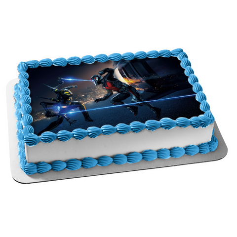 Ant-Man Avengers Endgame Marvel Edible Cake Topper Image ABPID01630