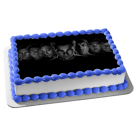 Star Trek Beyond Science Fiction Edible Cake Topper Image ABPID01651