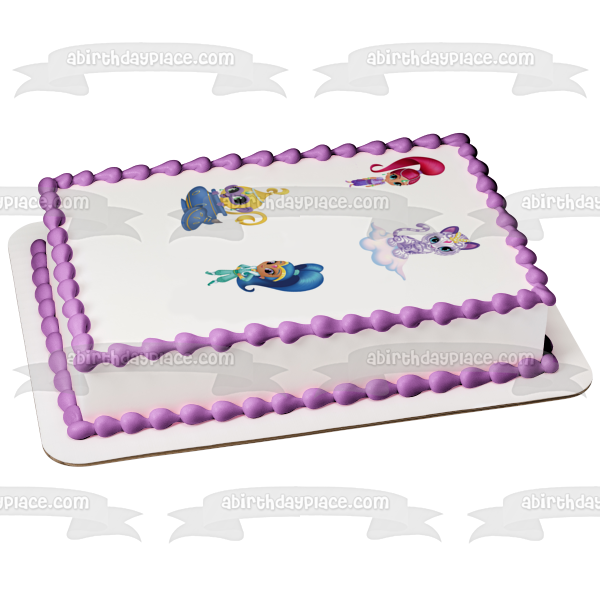 Shimmer and Shine Tala Nahal Edible Cake Topper Image ABPID01834