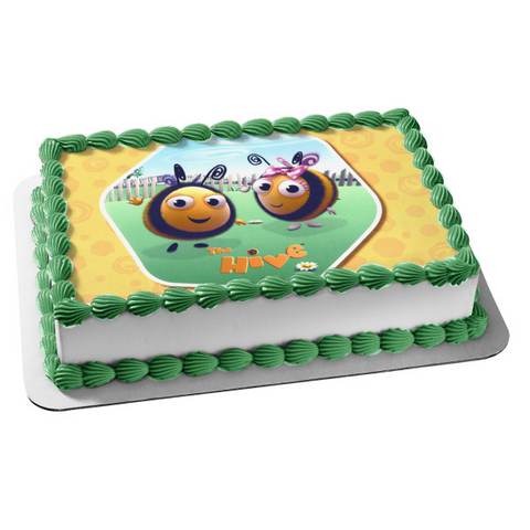 The Hive Disney Buzzbee Rubee Edible Cake Topper Image ABPID03287