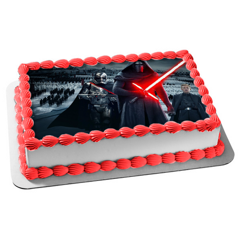 Star Wars Rouge One Force Awakens Edible Cake Topper Image ABPID03337
