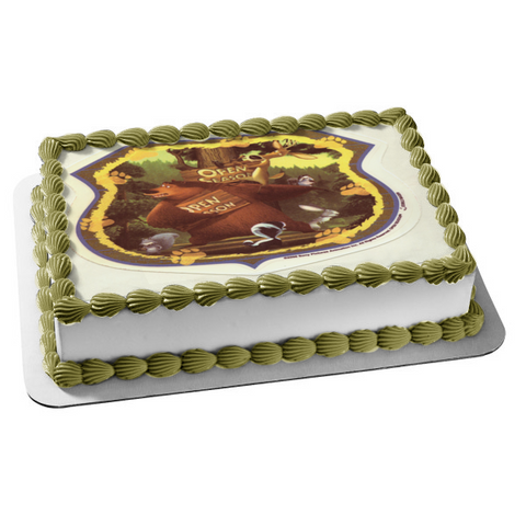 Open Season Boog Giselle Fifi Elliot Maria Rabbit Squirrel Edible Cake Topper Image ABPID03468