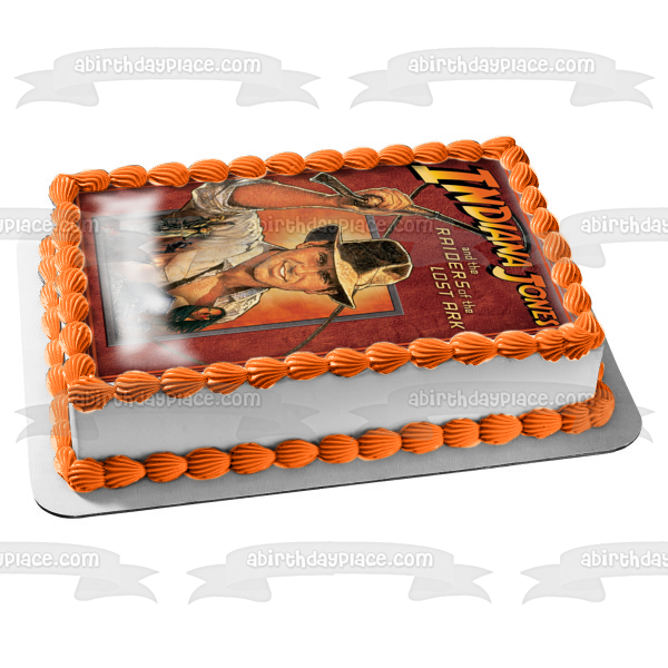 Indiana Jones and the Raiders of the Lost Ark Edible Cake Topper Image ABPID03582