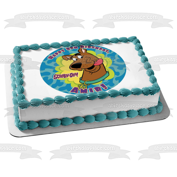 Scooby-Doo Where Are You Edible Cake Topper Image ABPID08328