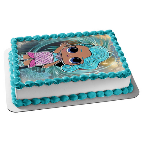 LOL Surprise Splash Queen Edible Cake Topper Image ABPID50960