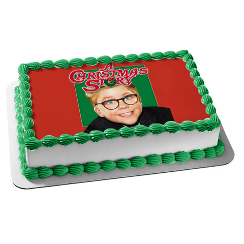 A Christmas Story Ralphie Christmas Special Edible Cake Topper Image ABPID53479