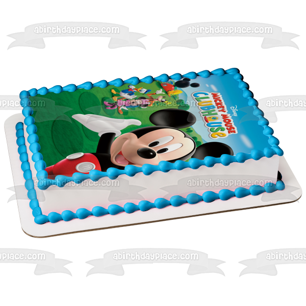 Mickey Mouse Clubhouse Cake Topper