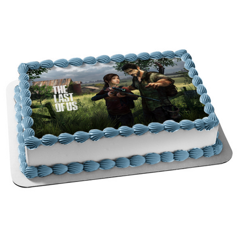 The Last of Us Zombies Edible Cake Topper Image ABPID04299
