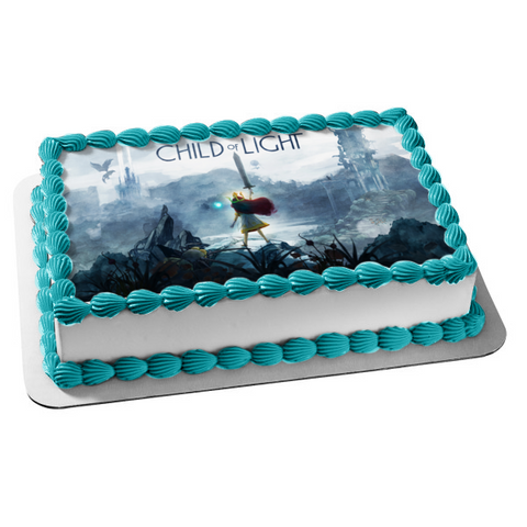 Child of Light Video Game Edible Cake Topper Image ABPID04678